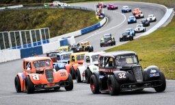 NEZ un Latvijas 'Legend Cars' čempionātā uzvaras laurus plūc Somijas autosportisti