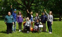 Pārsteigt un iedvesmot: cilvēki ar invaliditāti mūsu vidū