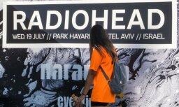 'Radiohead' ignorē boikotu un sarīko Izraēlā ilgāko koncertu pēdējos 11 gados