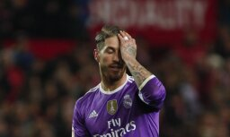 Real Madrid s Sergio Ramos