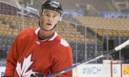 Tēvss nomaina Krosbiju vislabāk apmaksāto NHL spēlētāju topā