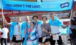 Arī vissliktākais rezultāts maratonā ir sasniegums. Visādi gadās