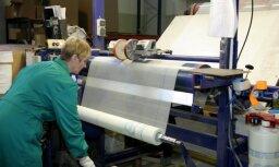 Pērn rūpniecības produkcijas apjoms pieauga par 8,5%