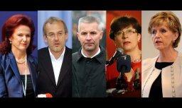 Krievija 'melnajā sarakstā' iekļauj piecus politiķus no Latvijas