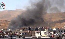 Близ аэропорта Дамаска произошел мощный взрыв