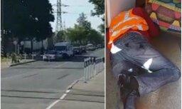 Video: Rīgā dzelzceļa pārbrauktuve ilgi slēgta – dežurants reibumā guļ uz grīdas