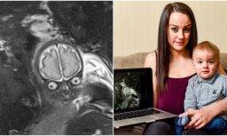 Interneta hits: Bērniņš mammas puncī izskatās pēc citplanētieša