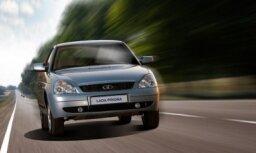 Pārdotākie auto Krievijā - 'Lada Priora' un 'Renault Logan'