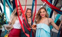 ФОТО: Модная тусовка на коктейльной вечеринке в Риге