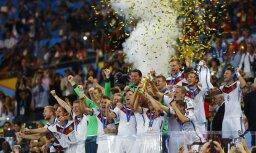 Сборная Германии — четырехкратный чемпион мира по футболу