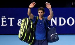 Nadals savainojuma dēļ izstājas no 'ATP Finals' un noslēdz sezonu