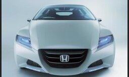 'Honda' ražošanai gatavo sportisko hibrīdu 'CR-Z'