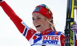 Dopings atrasts septiņkārtējās pasaules čempiones slēpošanā Juhaugas analīzēs
