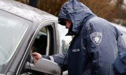 Pirmdien 76 avārijās Latvijā cietuši 12 cilvēki