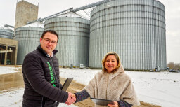 Swedbank выдал предприятию Dobeles dzirnavnieks кредит на строительство 15 башен для зерна