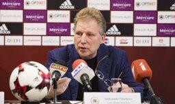 Starkovs Latvijas izlases pārbaudes mačos vēlas iespēlēt pamatsastāvu