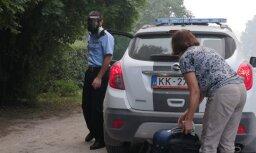 Пожар под Талси: эвакуированные жители до конца недели вряд ли вернутся домой