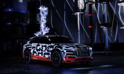 Īpaši augsts spriegums: 'Audi e-tron' prototips Faradeja būrī