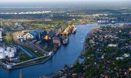 Грузооборот Вентспилсского порта за восемь месяцев вырос на 17%