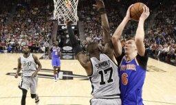 Porziņģis šosezon vēlas kļūt par NBA labāko aizsardzības spēlētāju