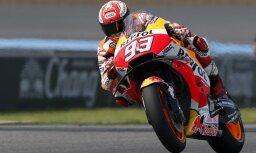 Markess kļūst par pieckārtēju 'MotoGP' čempionu