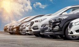 Latvijā mazāks jaunu vieglo auto reģistrācijas pieaugums par ES vidējo