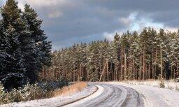Biezākā sniega sega valstī – 27 centimetri Alūksnē