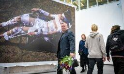Foto: Laikmetīgās mākslas izstādes 'Nosaukumam nav nozīmes' atklāšana