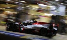 'Toyota' nodrošina 'pole position' Lemānas 24 stundu sacīkstēs