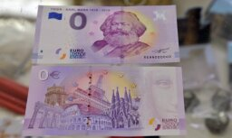 """Выпущенные к юбилею Карла Маркса """"банкноты с номиналом ноль евро"""" стали хитом продаж"""