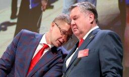 Ušakovu ievēlē 'Saskaņas' valdes priekšsēdētāja amatā