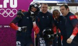 Britu bobsleja stūmējs uzrāda Lielbritānijas trešo labāko rezultātu 100 metru sprintā