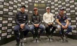 'World RX of Latvia': Solbergs slavē trasi, Lēbs atceras pagājušo gadu, latvieši apņēmības pilni