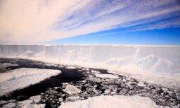 Отколовшийся от Антарктиды гигантский айсберг за год не сдвинулся с места