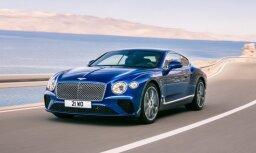 Jaunās paaudzes 'Bentley Continental GT' kupeja