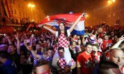 ФОТО, ВИДЕО: Десятки тысяч хорватов отметили выход сборной в финал ЧМ-2018