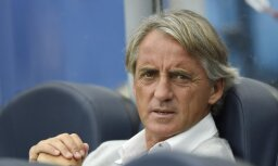 Mančīni oficiāli kļuvis par Itālijas futbola izlases galveno treneri