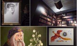Foto: Londonā atklāta vērienīga izstāde par godu 'Harija Potera' sāgas divdesmitgadei