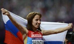 Krievijas skrējējai Savinovai-Fasnosovai dopinga dēļ var atņemt gada labākās Eiropas vieglatlētes titulu