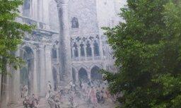 Romantiska freska Strēlnieku ielā