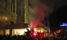 Protestētāji ieņēmuši Maķedonijas parlamenta ēku