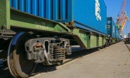 Asociācija: pie 50% kravu krituma dzelzceļa tarifa pieaugums būs nozarei postošs