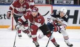 Mazākums un vairākums iegāž Rīgas 'Dinamo' spēlē ar Magņitogorskas 'Metallurg'