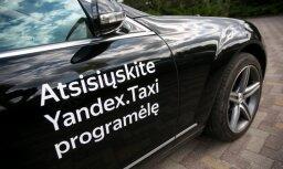 'Yandex.Taxi' noraida pārmetumus par lietotnes draudiem personas datu drošībai