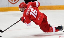 Daugaviņa vārti nepalīdz Maskavas 'Spartak' uzvarēt SKA