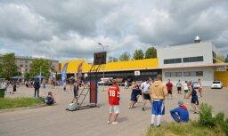 Fotoreportāža: Rēzeknē aizvadīts 'Ghetto Basket' turnīrs