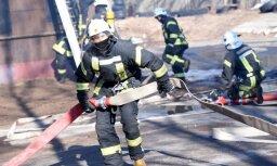 Пожары в Риге: cпасены двое пострадавших, еще 10 человек эвакуированы