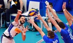 ASV, Brazīlijas, Serbijas un Itālijas volejbolisti nodrošina vietas PČ trešajā posmā