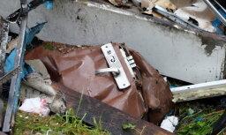 Полиция: мощность взрыва в Саулкрастском крае была эквивалентна 100 килограммам тротила