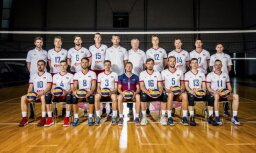 Latvijas volejbola izlases spēlētājs Kudrjašovs sajūsmināts par spēlēšanu Daugavpilī